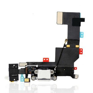 charging port flex cable for iphone 5s silver 1