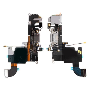 iPhone 6S Charging Port and Audio Flex Cable Light Grey